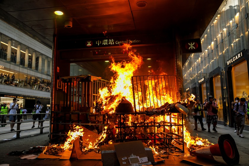 Opinion: Hong Kong's view of the protest movement