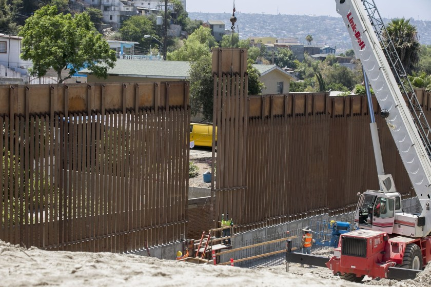 Opinion: Rebuttal to myself — View on the border wall
