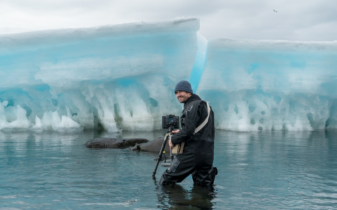 National Geographic photographer Keith Ladzinski on his experience in Antarctica, climate change