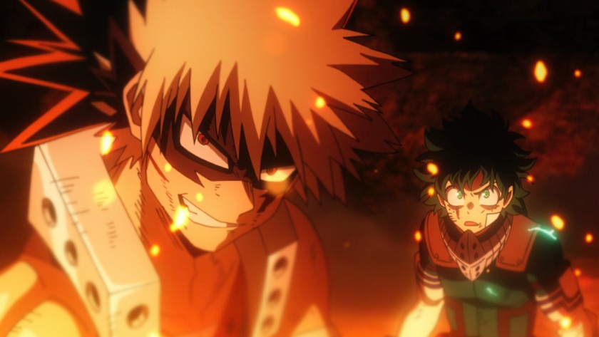 Review: Heroes rise in new 'My Hero Academia' movie