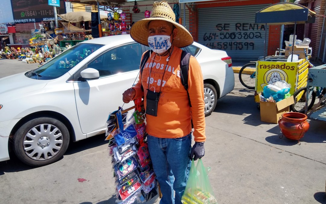 Mexico's informal workers devastated by the halted economy