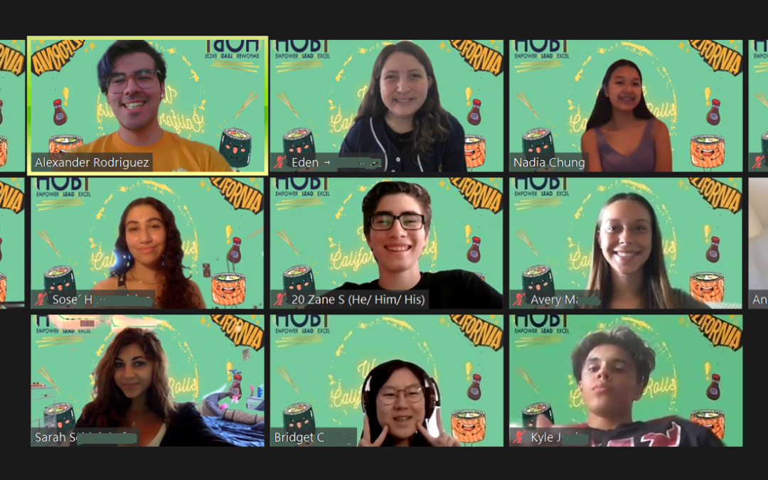 My experience with HOBY online and 600+ young leaders on one Zoom call