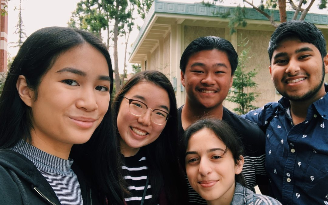 Whitney High attends USC history bowl competition