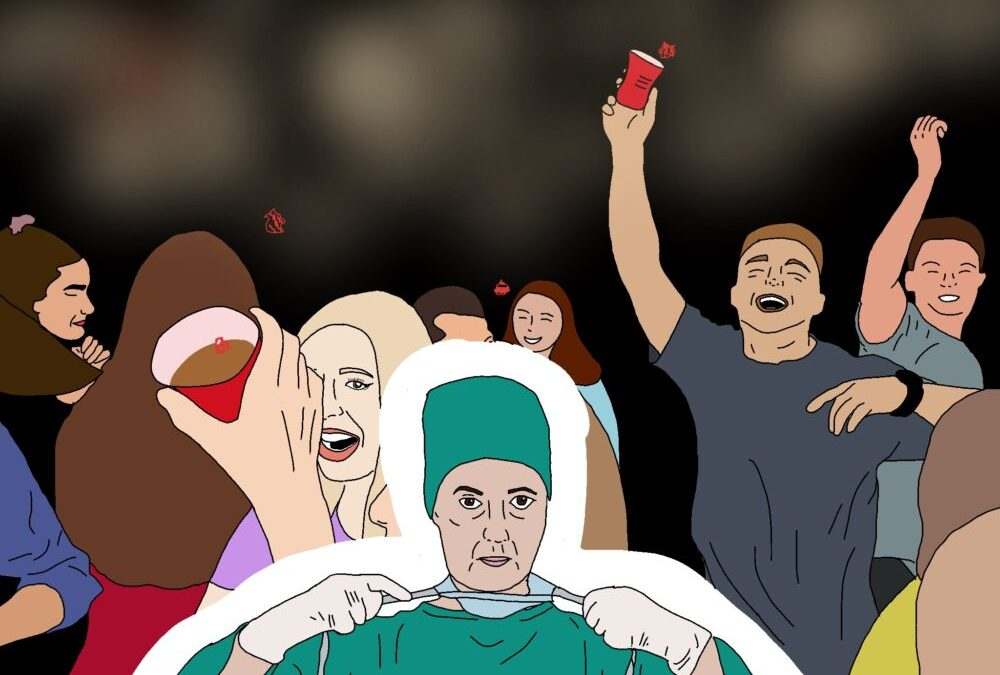 Opinion: Partying during a pandemic isn't the answer