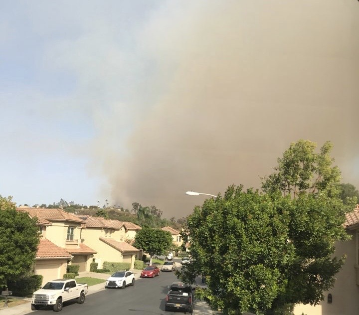 My real life experience with the Silverado Fire