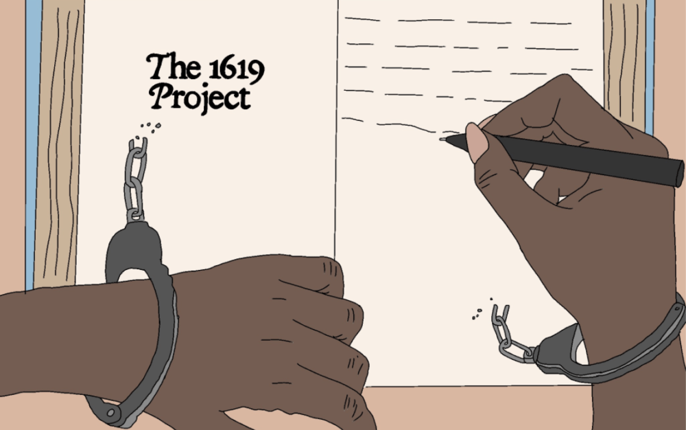 Opinion: Trump's rejection of 'The 1619 Project' is a step backwards