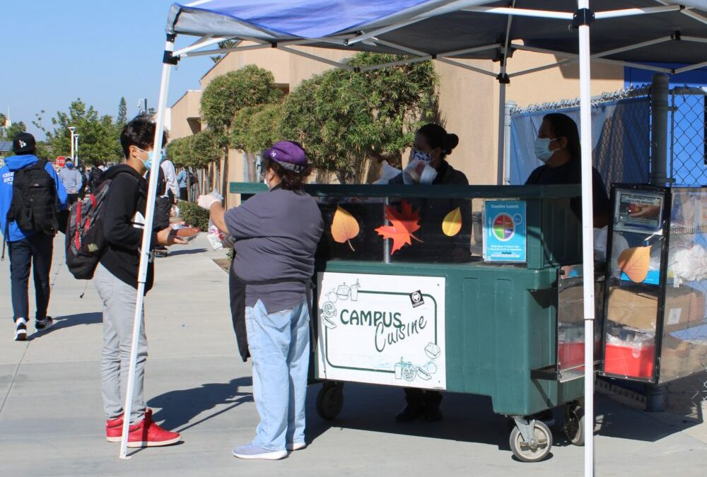 Feeling hungry? FVHS offers free grab and go meals