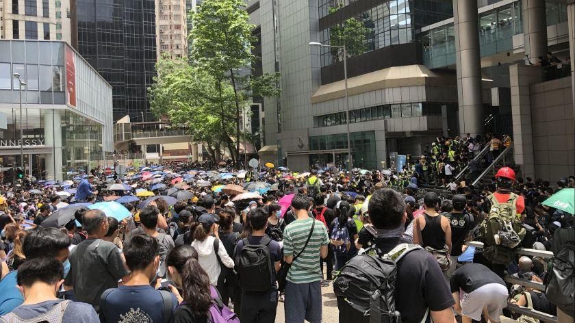 Update on Hong Kong protests