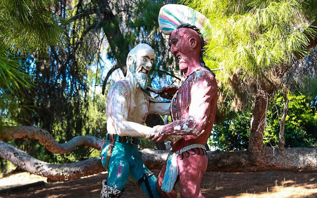 Controversial statues remain at Pierce College