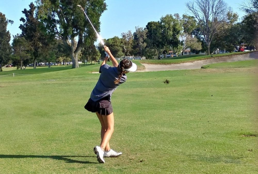 Fountain Valley High School girls' golf roars against Westminster Lions