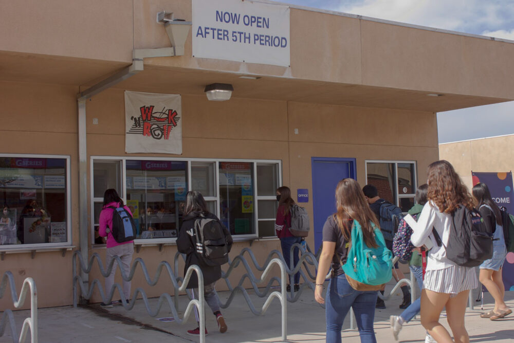 FVHS cafeteria invites students to a summer job
