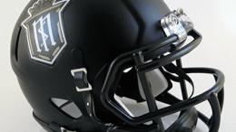 Servite Friars football helmet