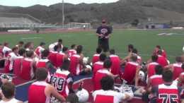 Tesoro football practice rules