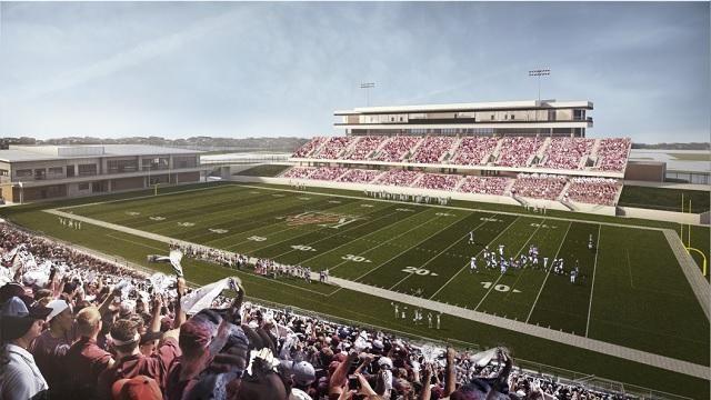 Katy football stadium renderings