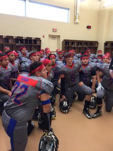 Lubbock football 9/11 uniforms