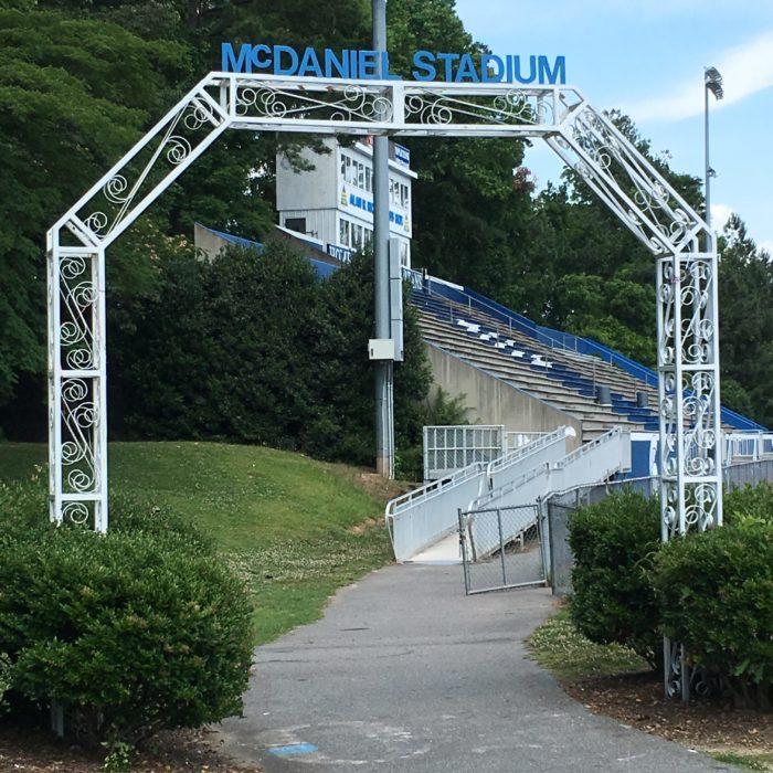 McDaniel Stadium high school football field