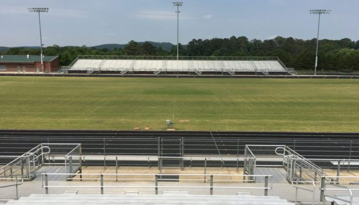 Adairsville High School visitor stands