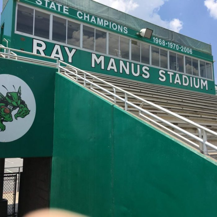Roswell high school press box