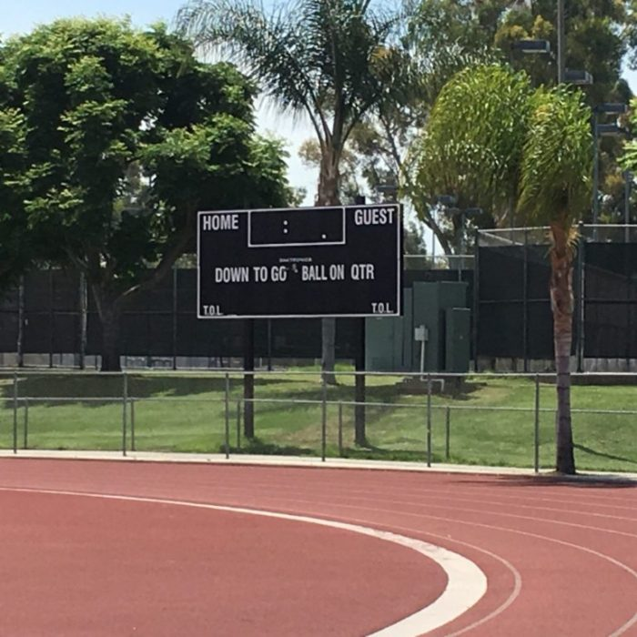 Irvine high school football