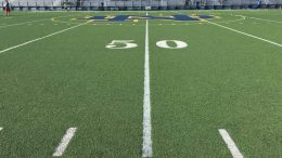 notre dame high school football field