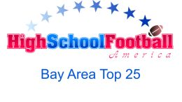 Bay Area Top 25