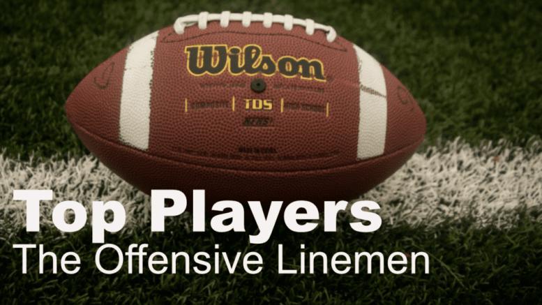 offensive linemen
