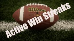 active win streaks