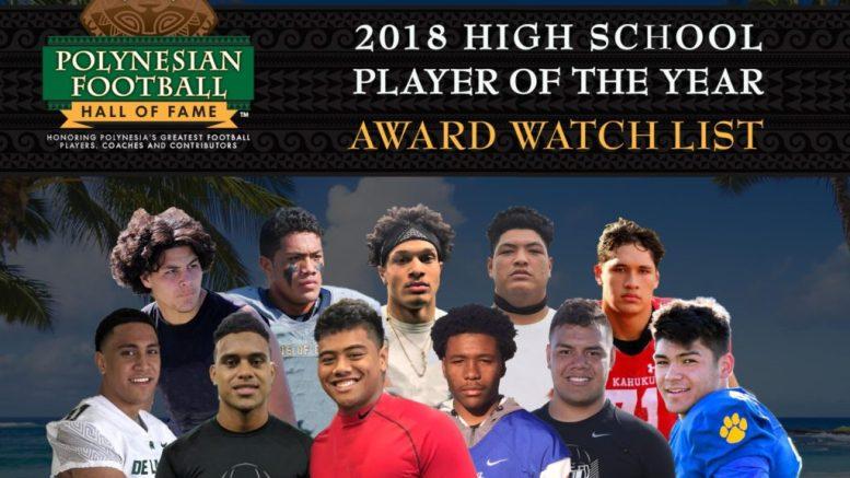 Polynesian Player of the Year Award