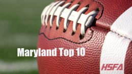 maryland high school football top 10