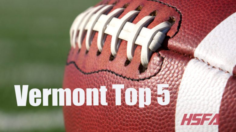 vermont high school football top 5