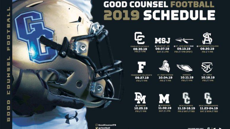 good counsel football