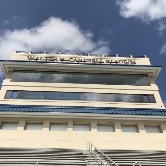 mceachern football walter cantrell stadium