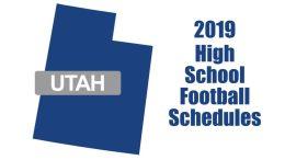 utah high school football schedules