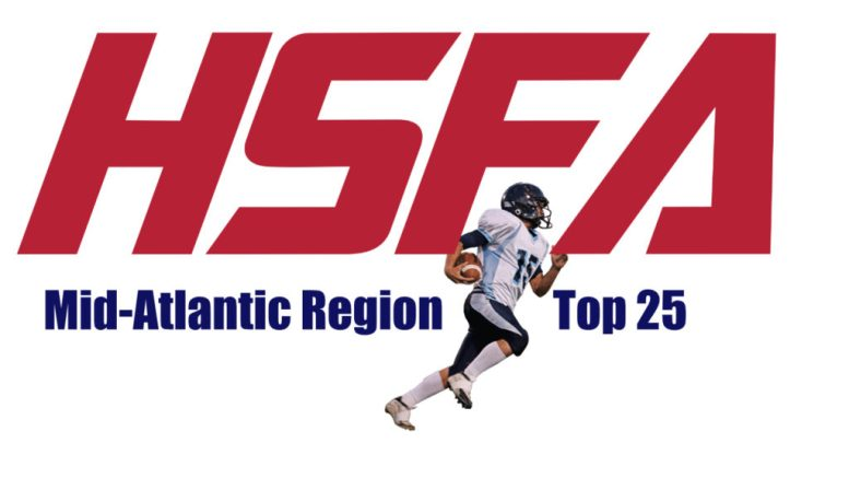 Mid-Atlantic Top 25 high school football rankings