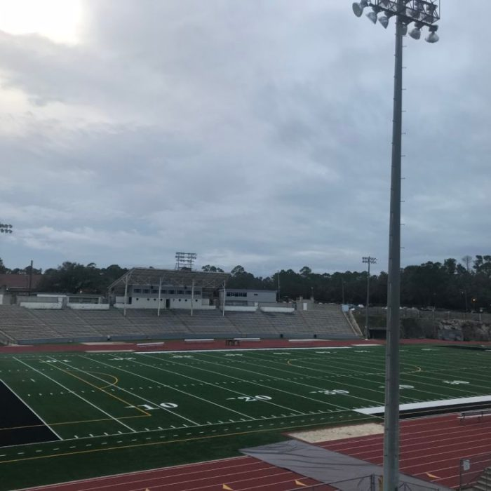 hughes mils high school football stadium