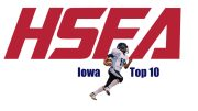 iowa high school football top 10