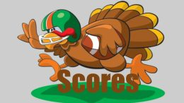 turkey day high school football scores