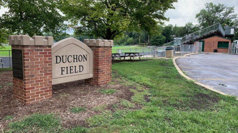 duchon field at Glenbard West High School