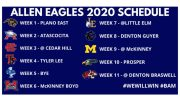 allen eagles high school football