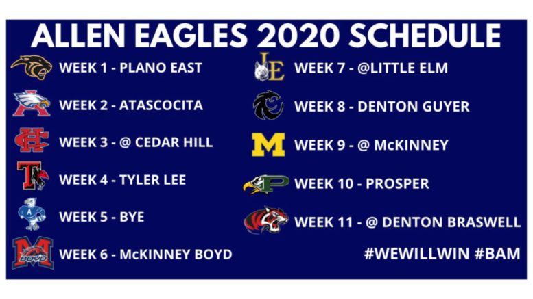 allen eagles high school football