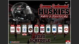 corona centennial huskies football