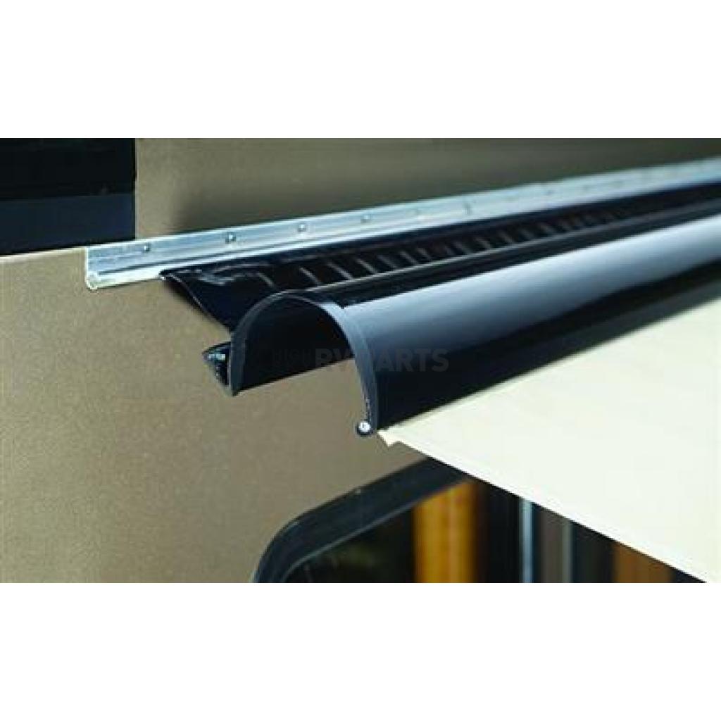carefree rv patio awnings cover black 12 feet uniguard r001246pblk 149