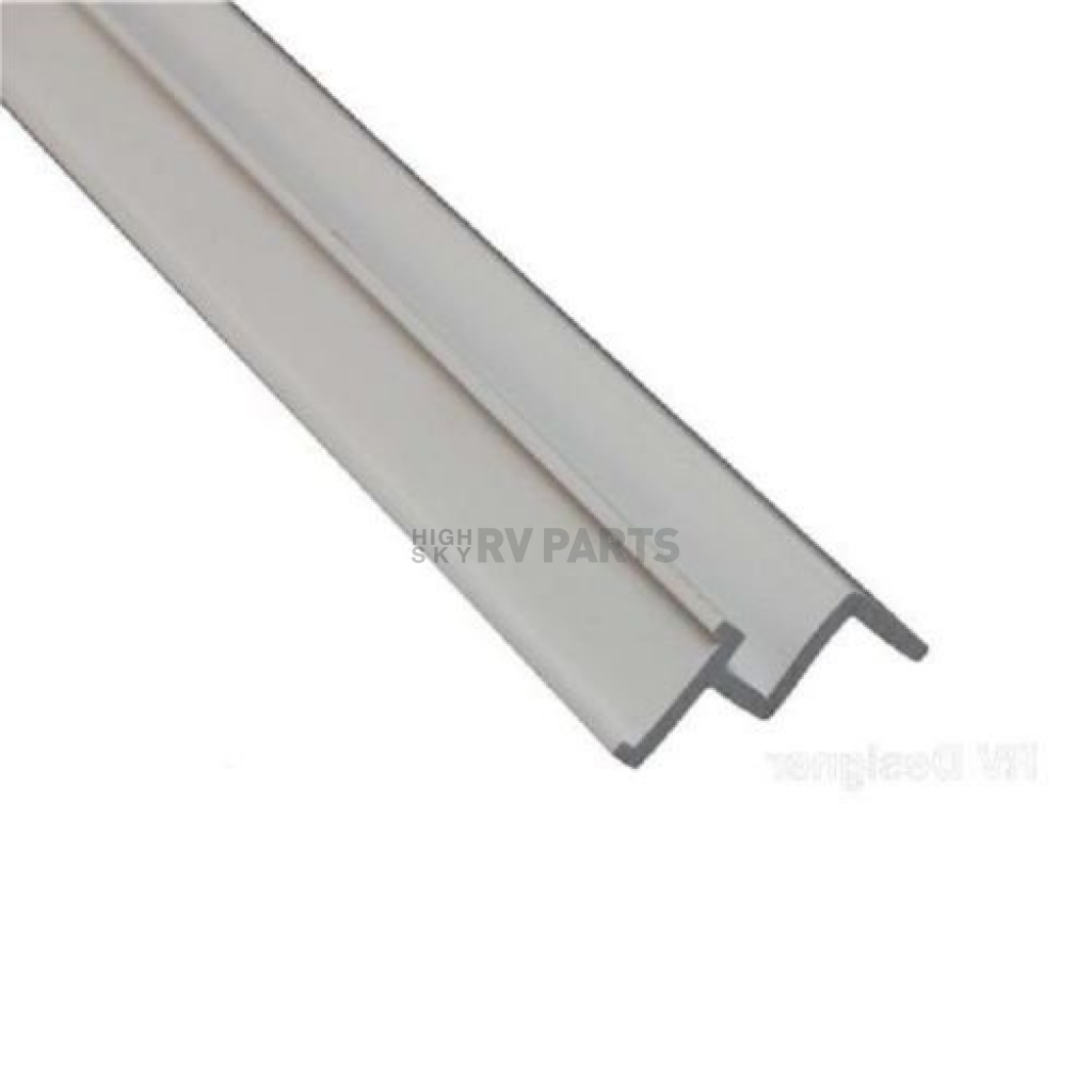 window curtain track ceiling mount 96 length white