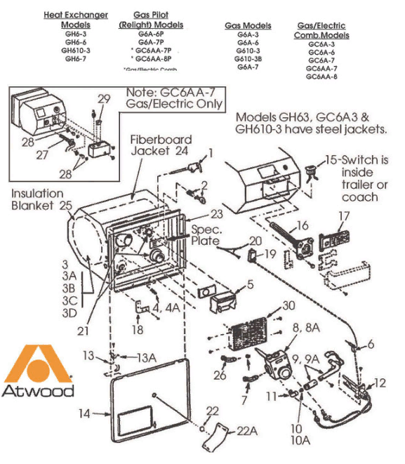 [View 39+] Atwood Rv Water Heater Switch Wiring Diagram