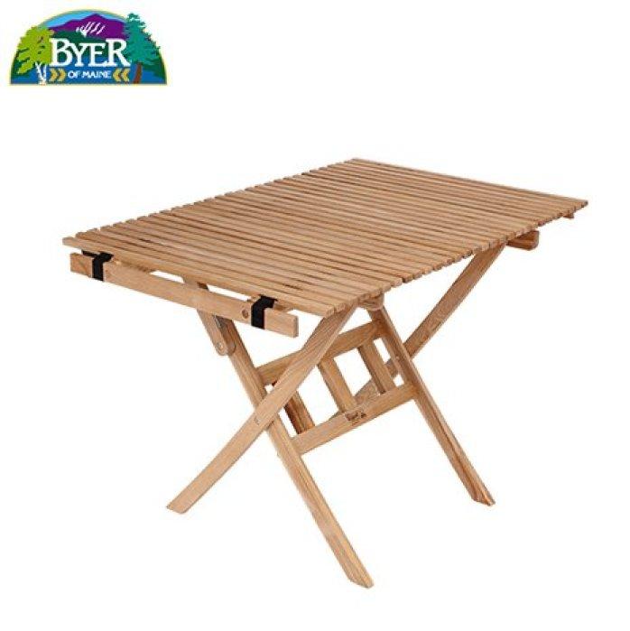 バイヤーオブメイン ロールトップテーブル