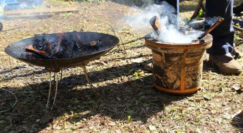 ナンガ オーロラ 焚き火 強さ