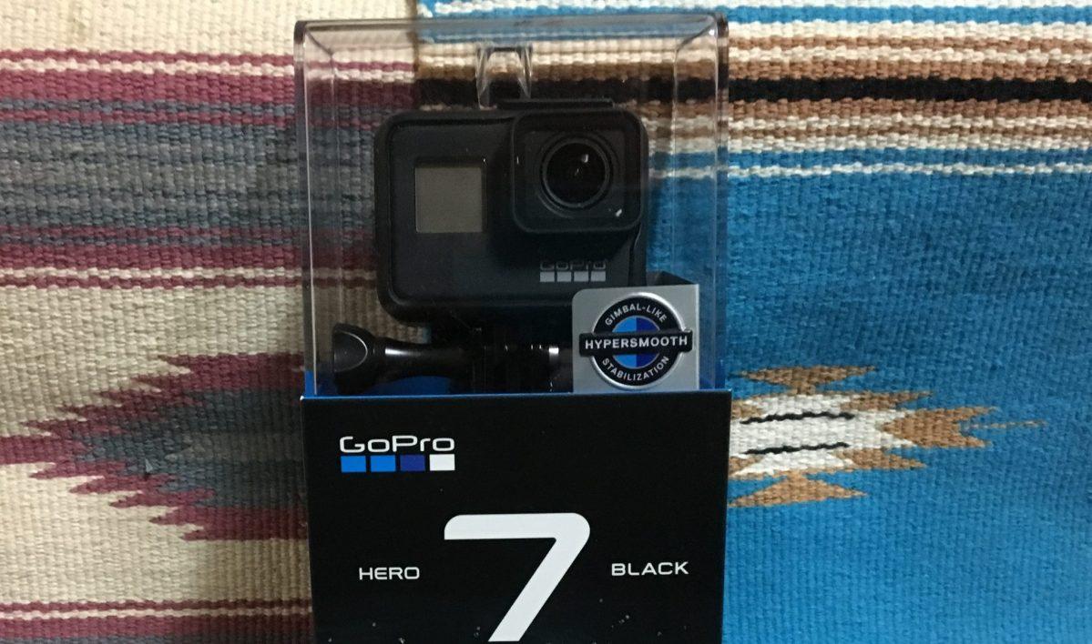 【開封レビュー】最新モデル「GoPro HERO7 Black」!開封から初期設定!スマホアプリ導入まで!!