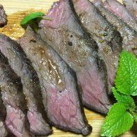 【ジビエ料理】鹿肉料理を食べる!!刺身は危険?!調理法と注意点!低温調理で安心で美味しく食べれる!!