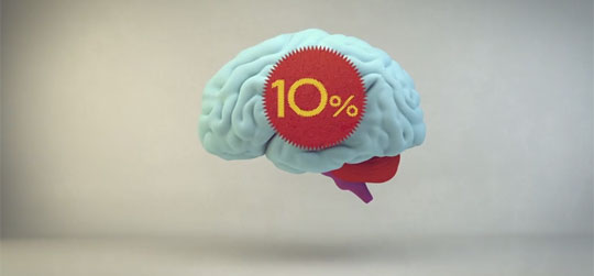 Image result for What percentage of your brain do you use?