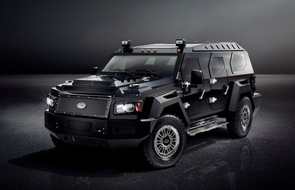 Take a Luxury SUV Add Tank Armor and You Get the Massive